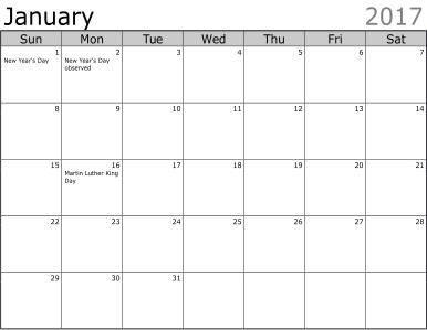 word doc calendar